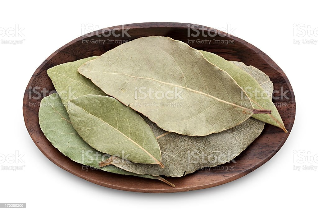 Bay leaves royalty-free stock photo