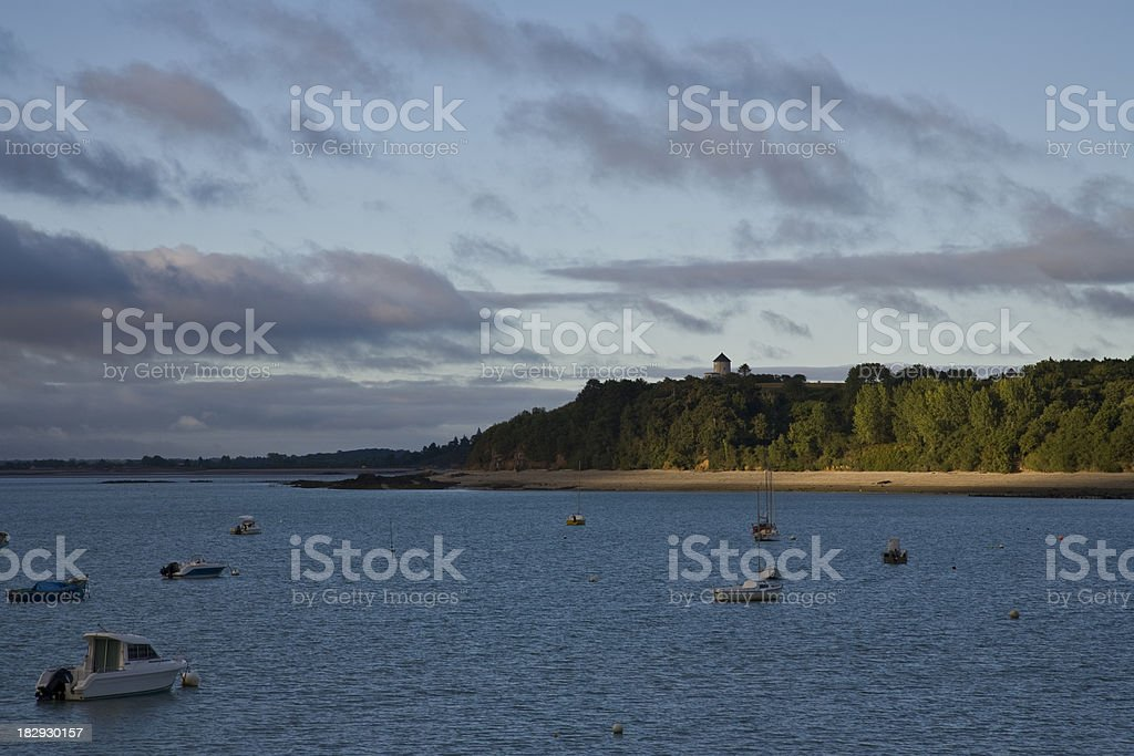 Bay of Cancale Brittany royalty-free stock photo