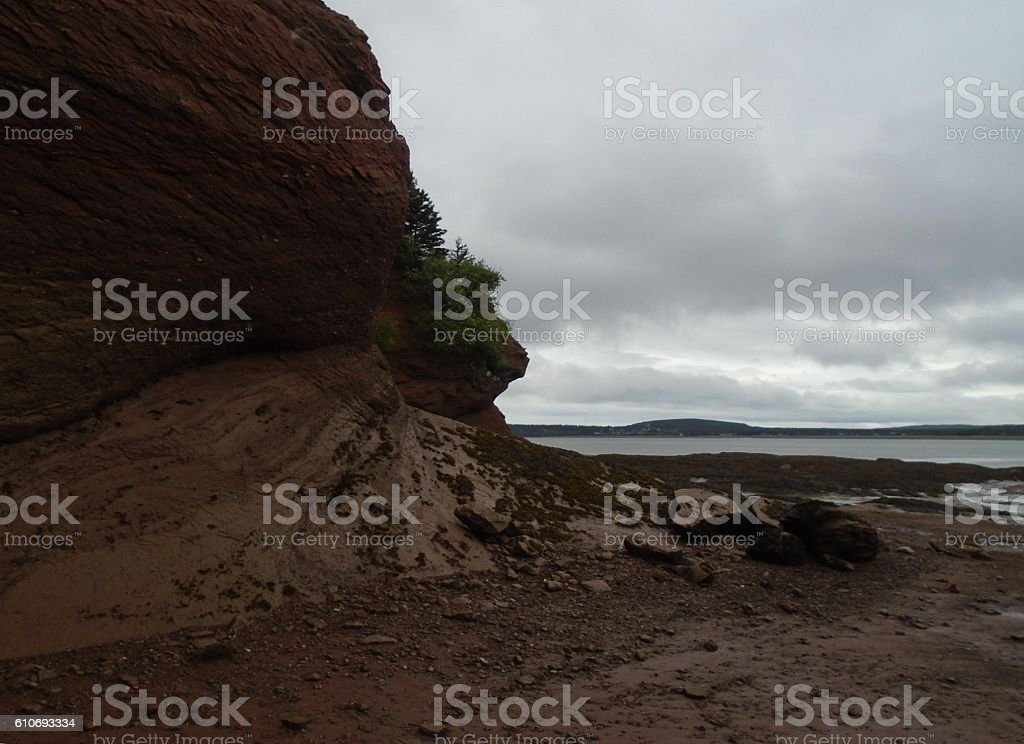 Bay of Fundy stock photo