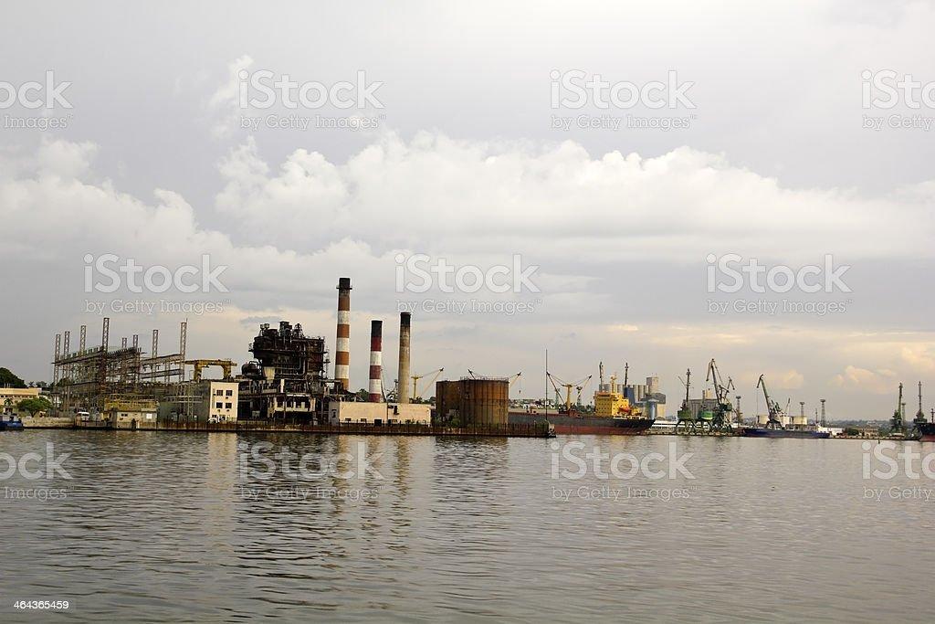 Bay of Havana, Cuba stock photo