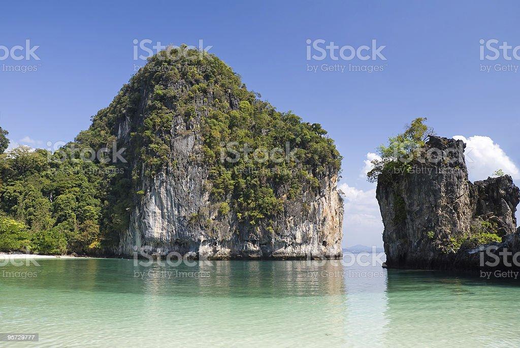Bay of Hong Island royalty-free stock photo