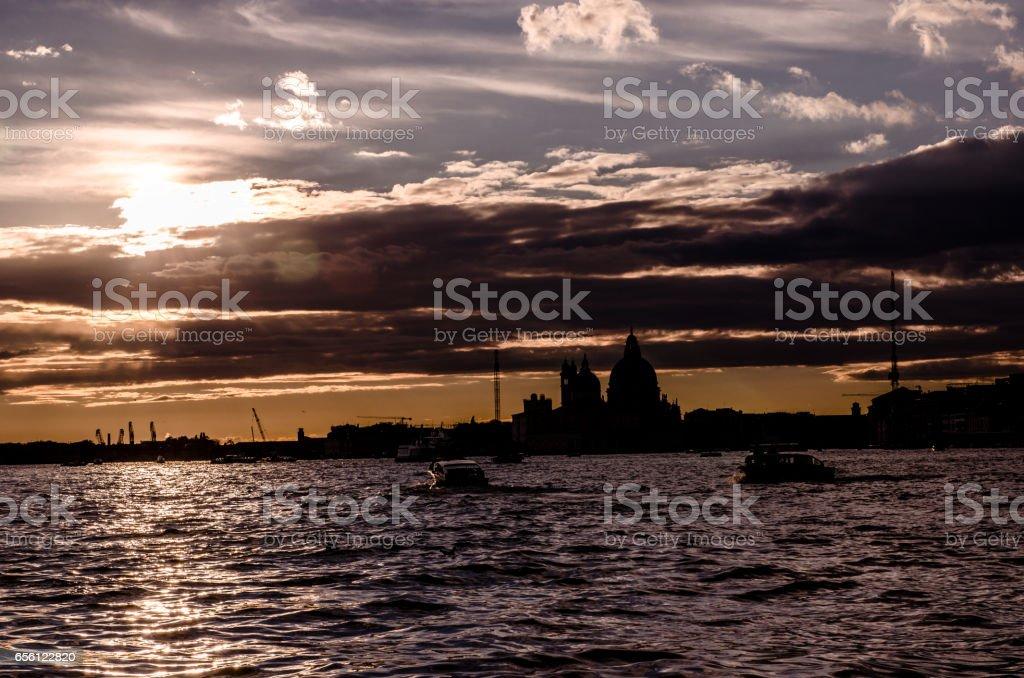 Bay of San Marco stock photo
