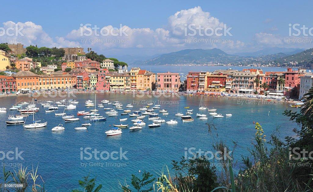 Bay of Silence - Italy stock photo