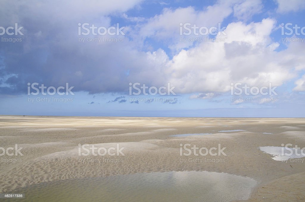 Baie de Somme in France stock photo