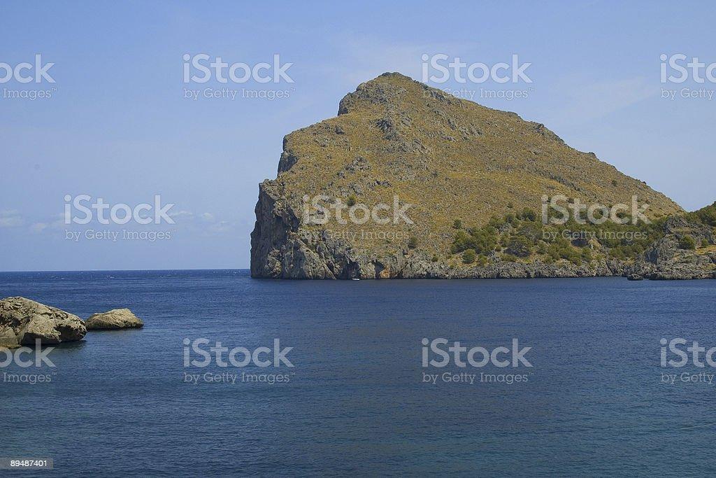 Bay em Maiorca foto royalty-free