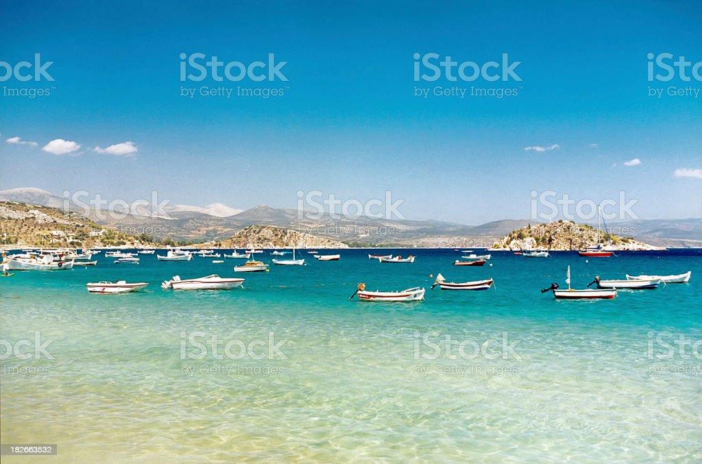 Bay royalty-free stock photo