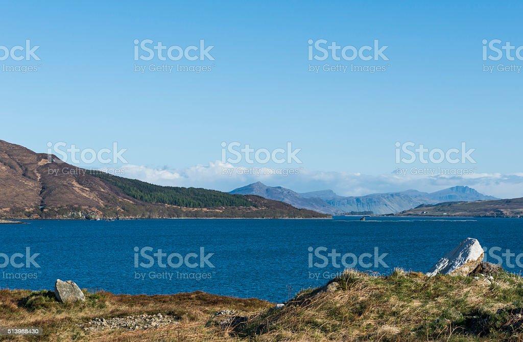 Bay Scotland stock photo
