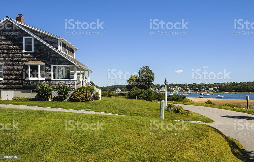 Bay Side Bungalow royalty-free stock photo