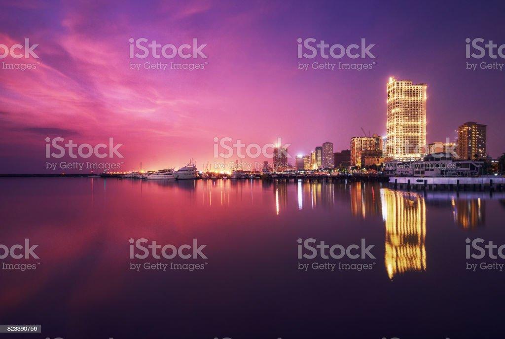 CCP Bay Terminal  Metro Manila stock photo
