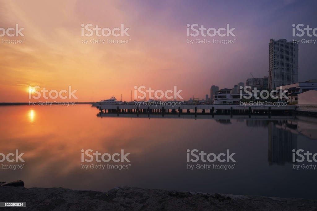 CCP Bay Terminal stock photo