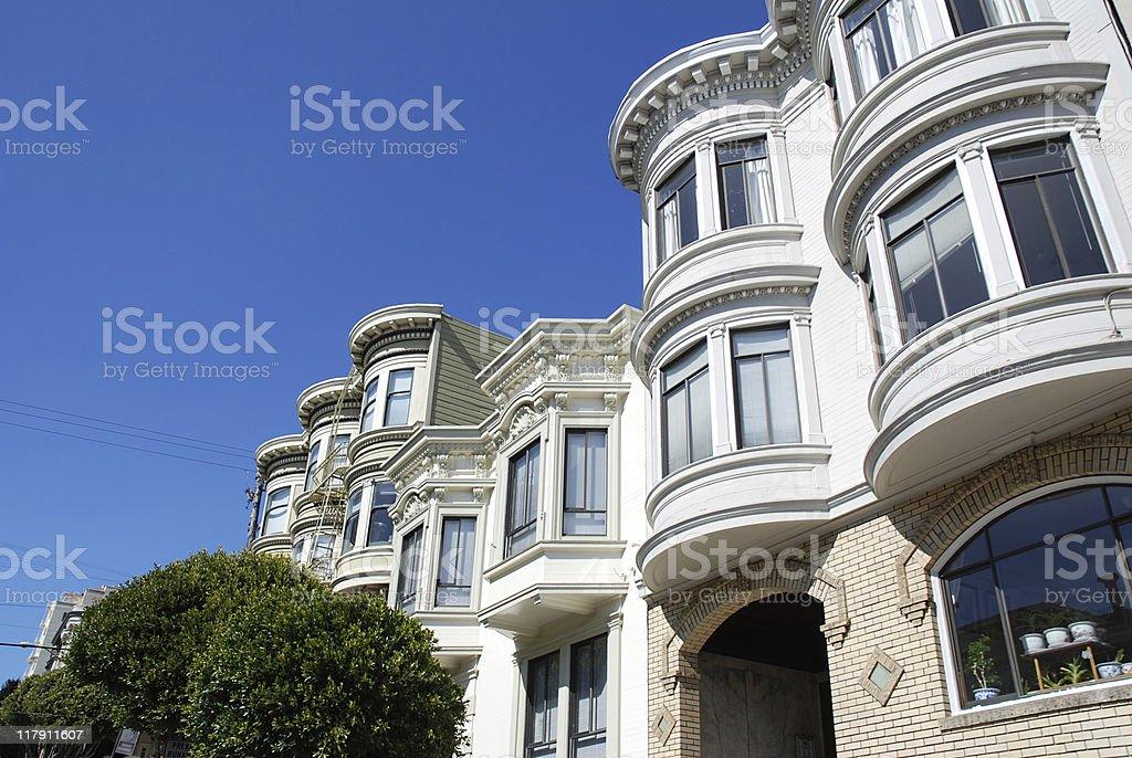 bay window ,San Francisco royalty-free stock photo