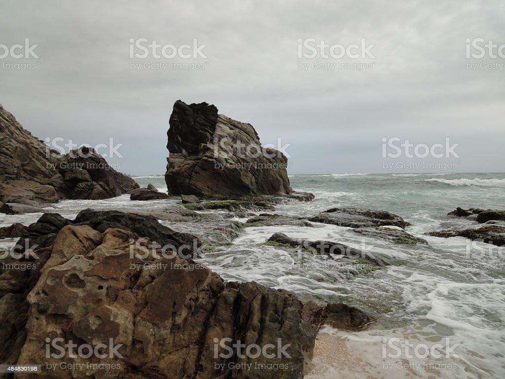 bayah beach stock photo