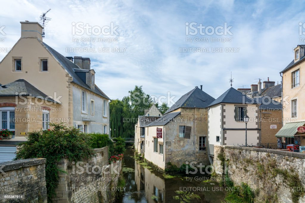 Bayeux in France stock photo