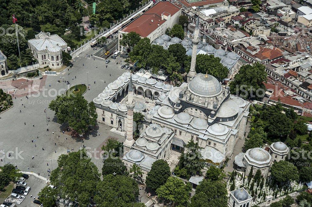 Bayezid II Mosque stock photo