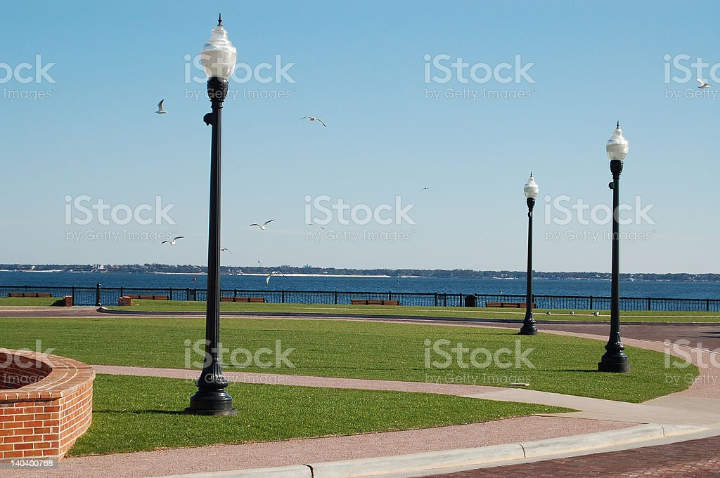 Bayfront Park royalty-free stock photo