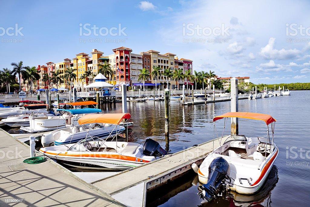 Bayfront royalty-free stock photo