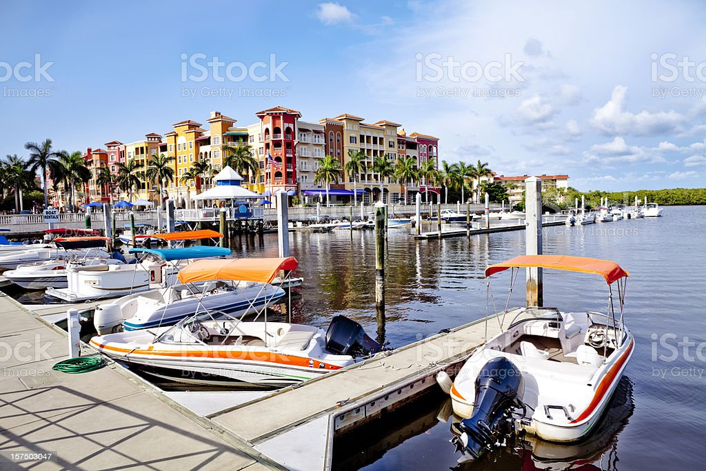 Bayfront stock photo