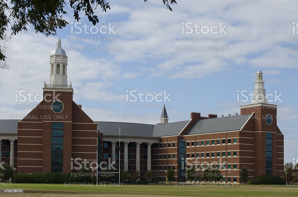 Baylor University Sciences Building royalty-free stock photo