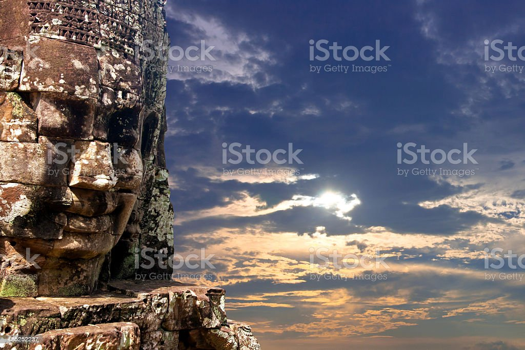 Bayon, siem reap, Cambodia, stock photo