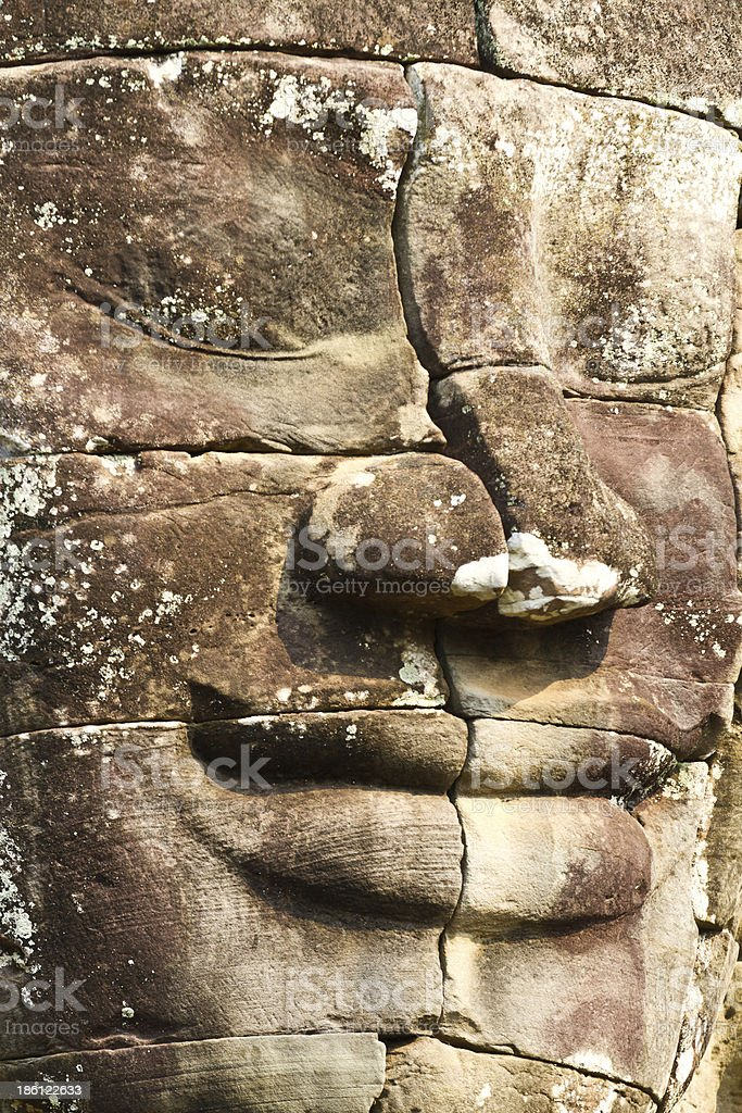 Bayon Temple, Cambodia stock photo