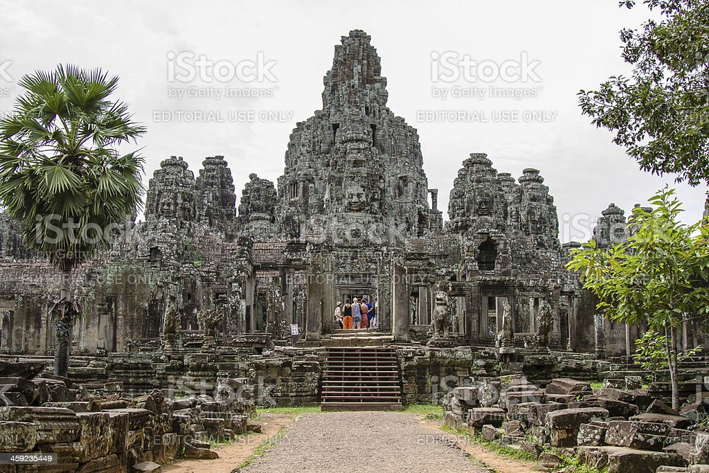 Bayon Temple, Siem Reap, Cambodia royalty-free stock photo