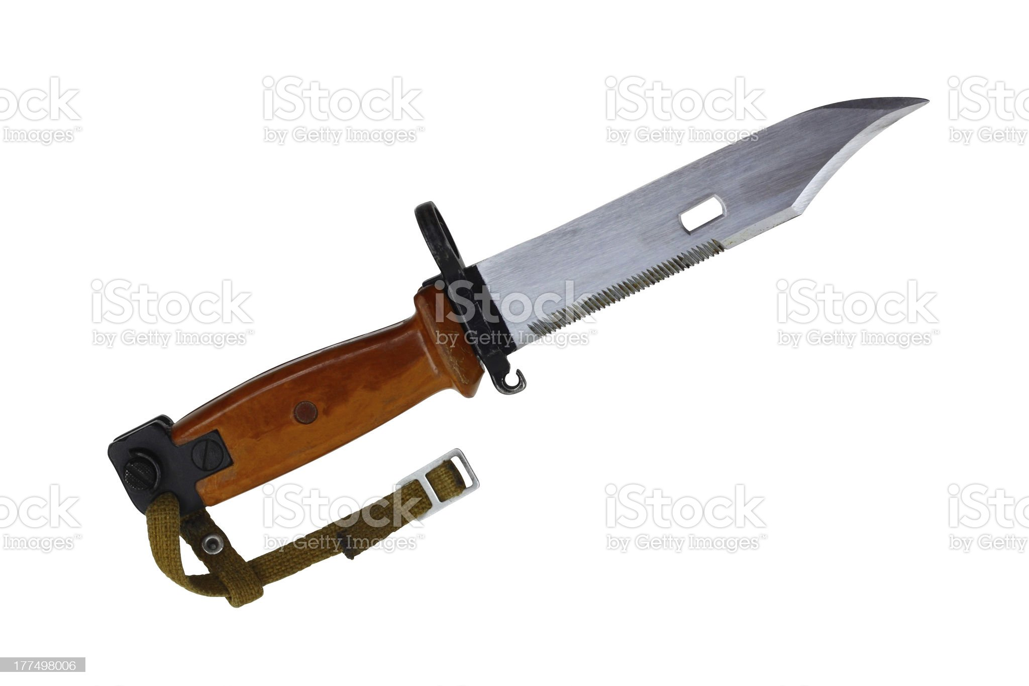 Bayonet knife royalty-free stock photo