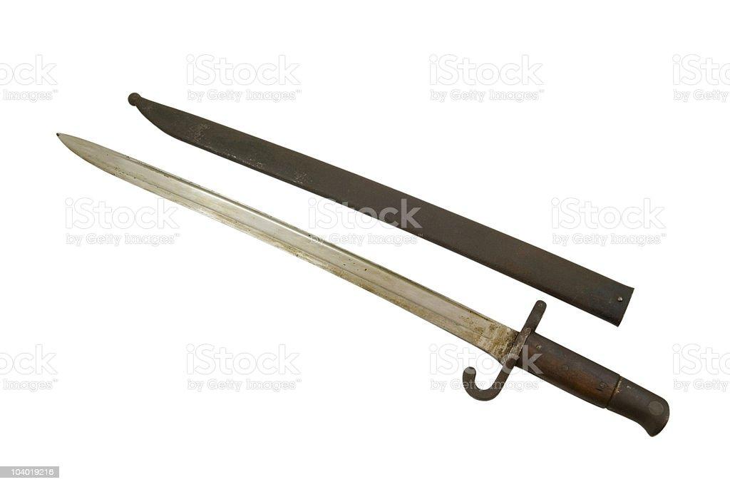 Bayonet royalty-free stock photo