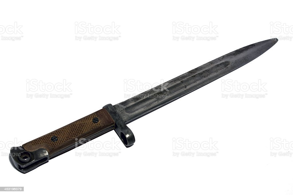 Bayonet-knife stock photo