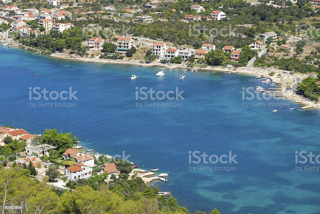 Bays of Dalmatia stock photo