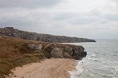 Bays of the Karalarsky natural landscape park.