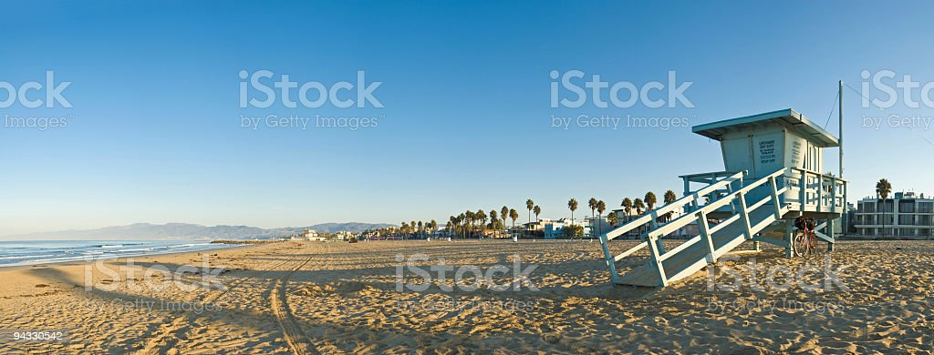 Baywatch blue stock photo