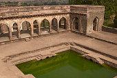 Baz Bahadur's palace in Mandu, India