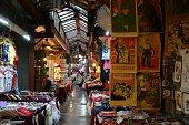 Bazaar in the muslim quarter of Xi'an, Shaanxi, China