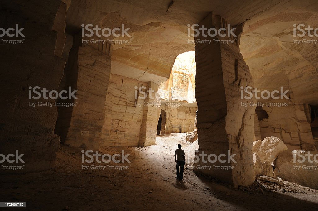 Bazda Caves, Harran, Sanliurfa, Turkey stock photo