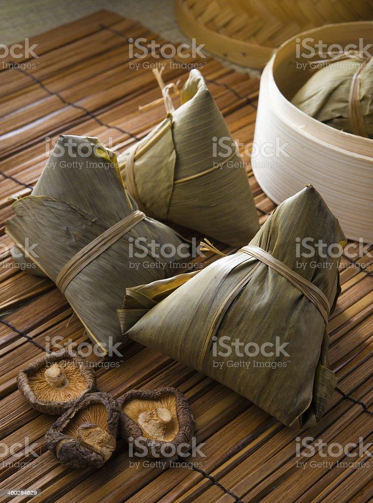 bazhang chinese dumplings, zongzi usually taken during duanwu fe stock photo
