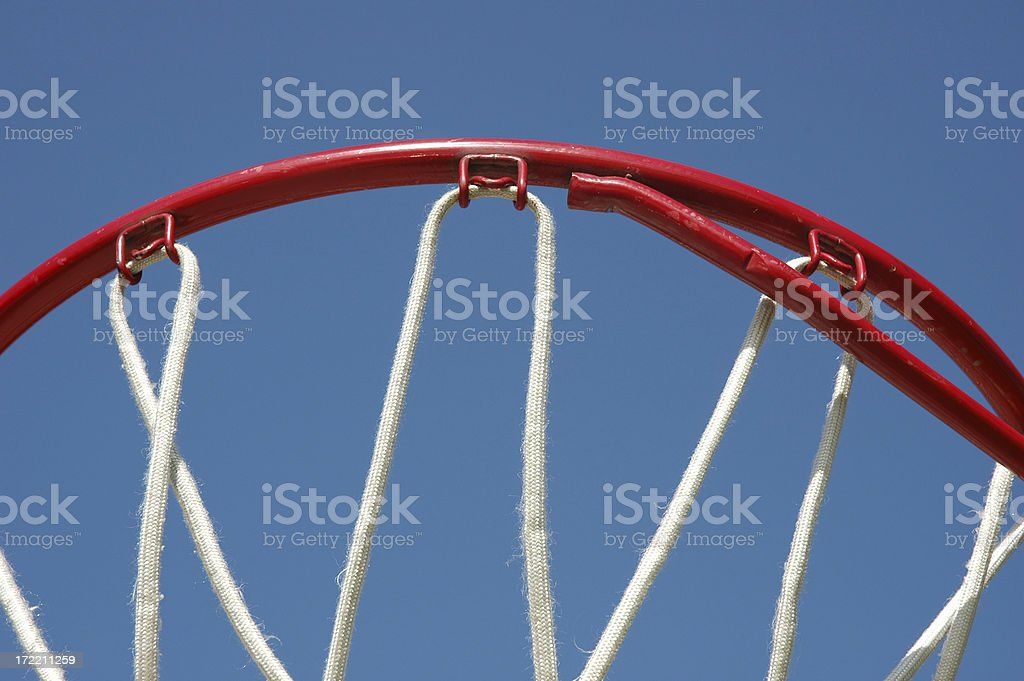 B-Ball Rim royalty-free stock photo