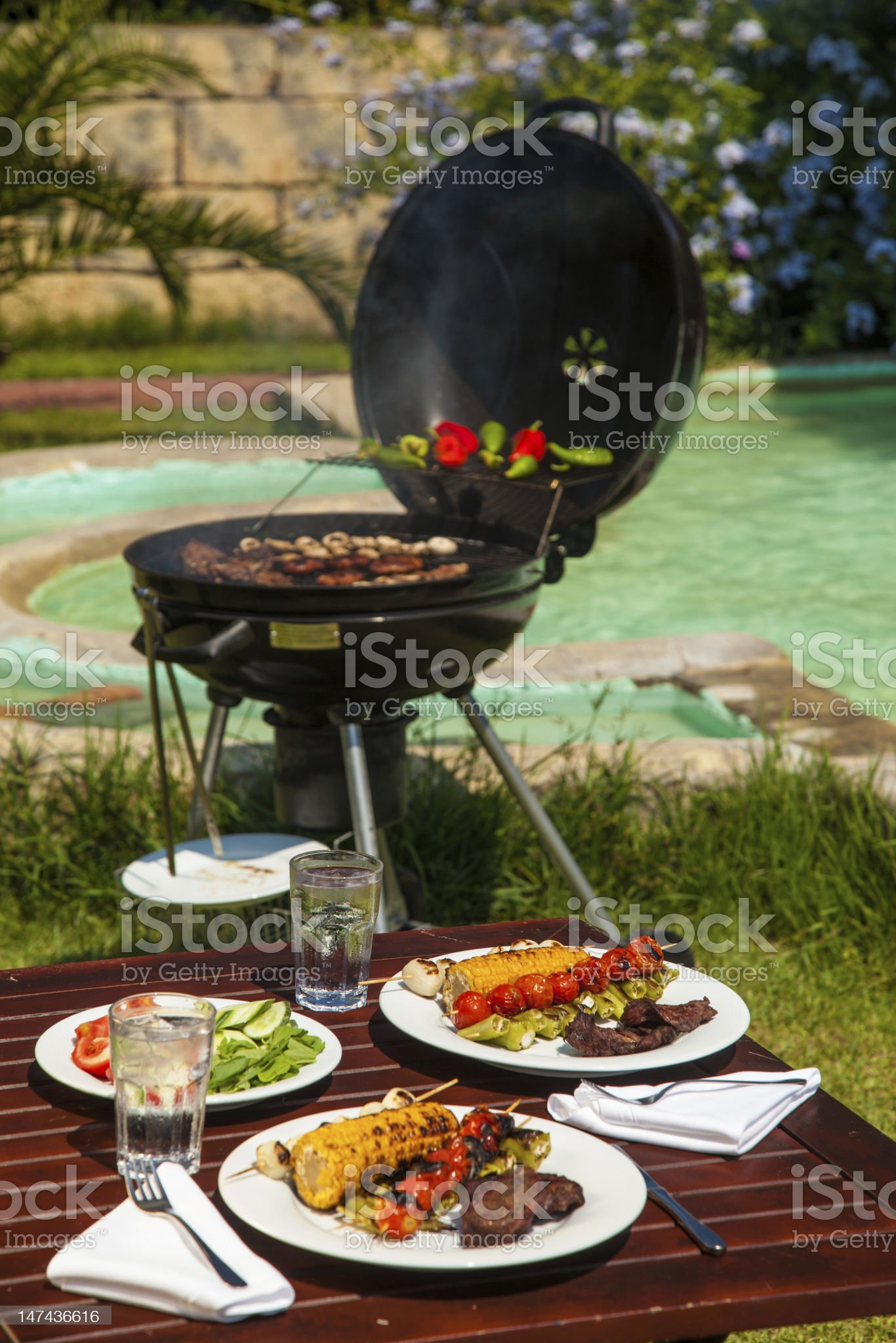 bbq party royalty-free stock photo
