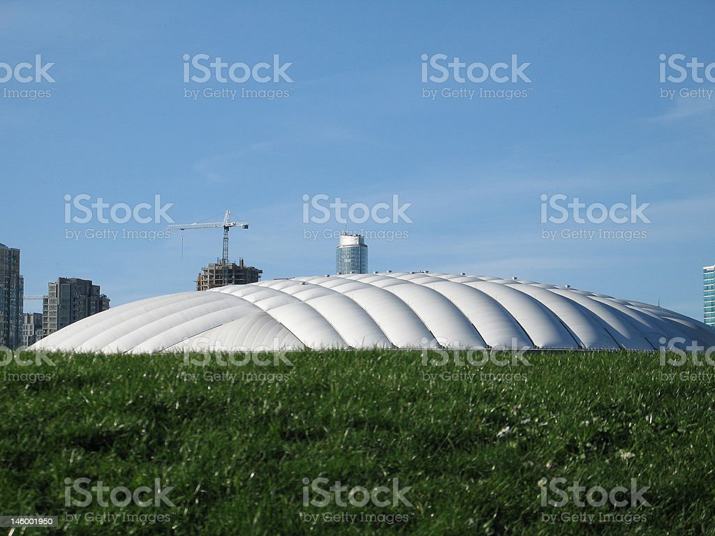 bc place dome royalty-free stock photo