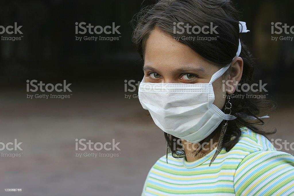 Be aware of  SARS stock photo