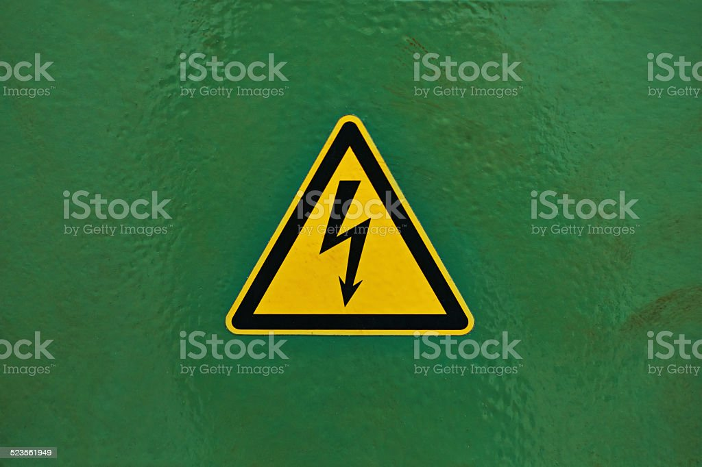 Be careful - electricity stock photo