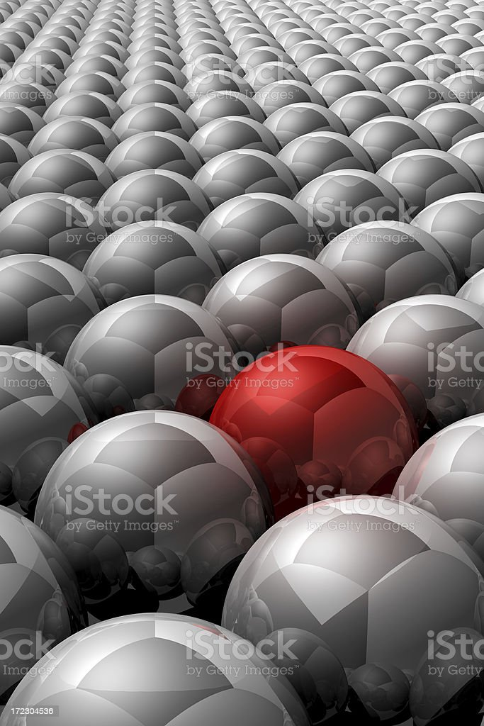 Be Different royalty-free stock photo