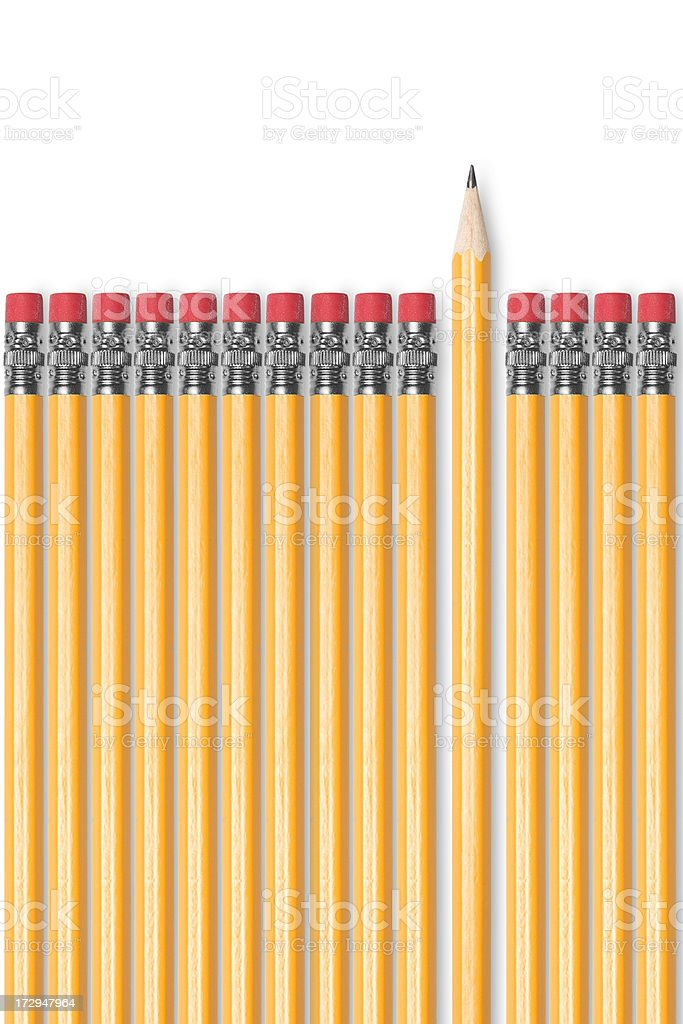Be different! stock photo