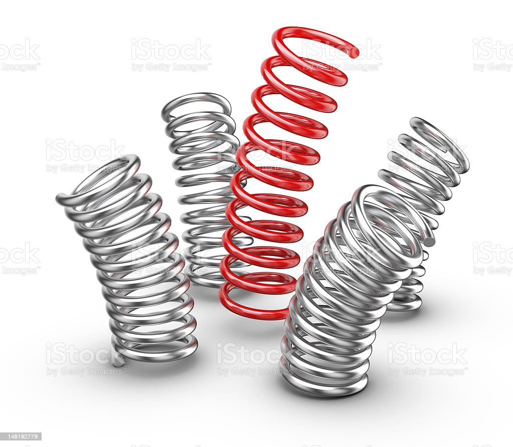 Be different - Springs stock photo
