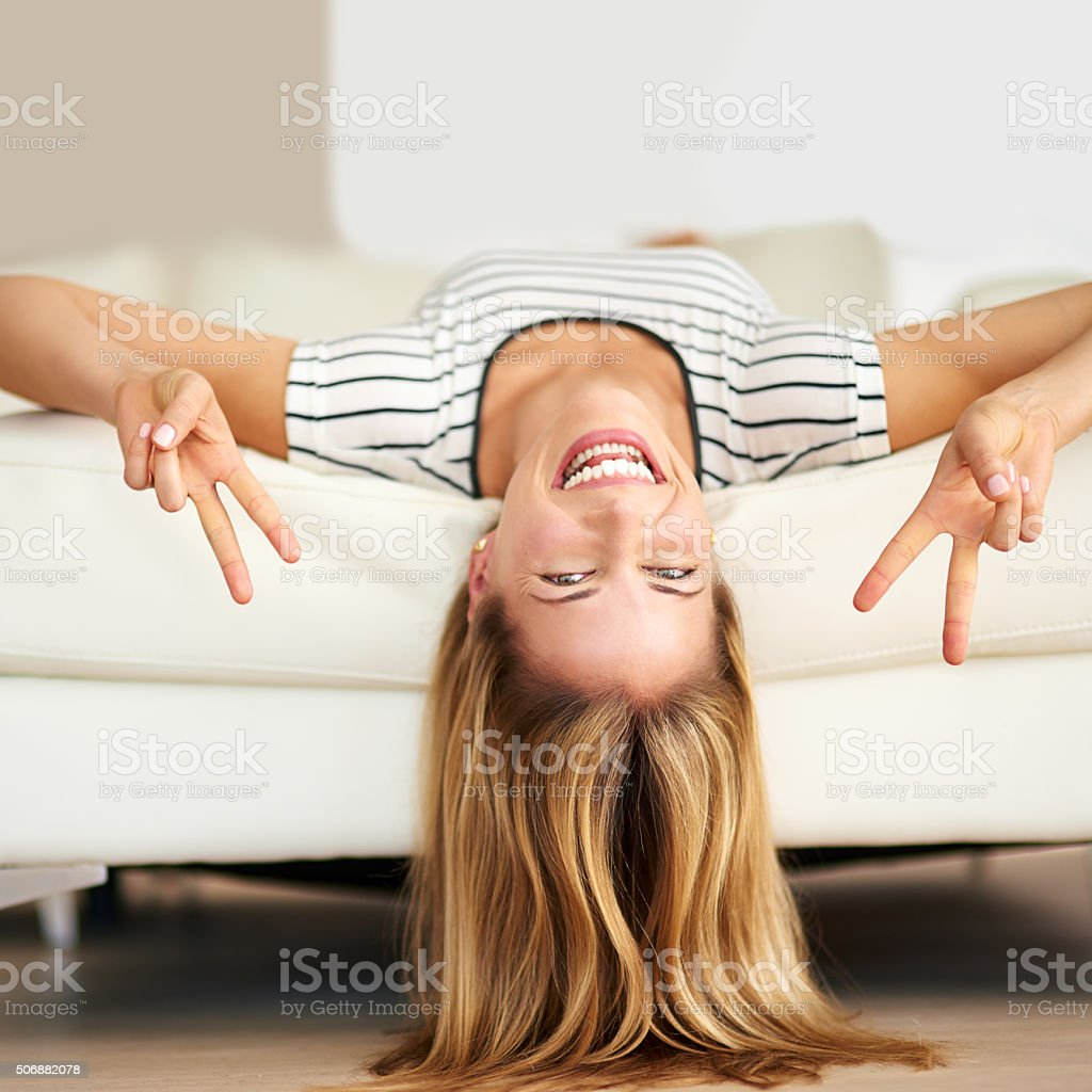 Be fearless in the pursuit of happiness stock photo