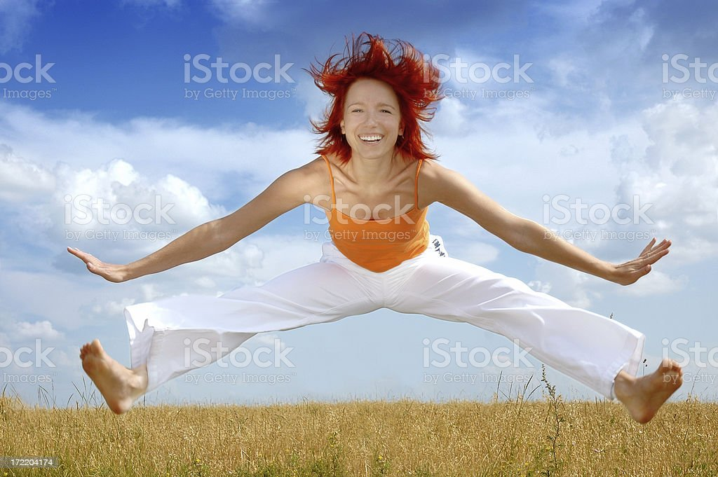 Be free! royalty-free stock photo