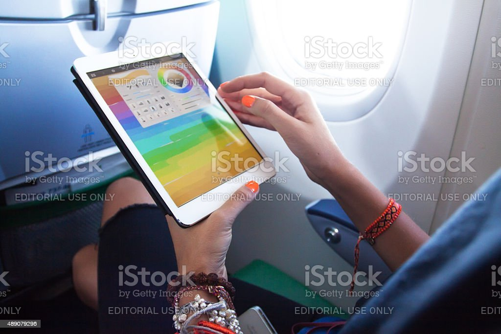 be in touch concept stock photo