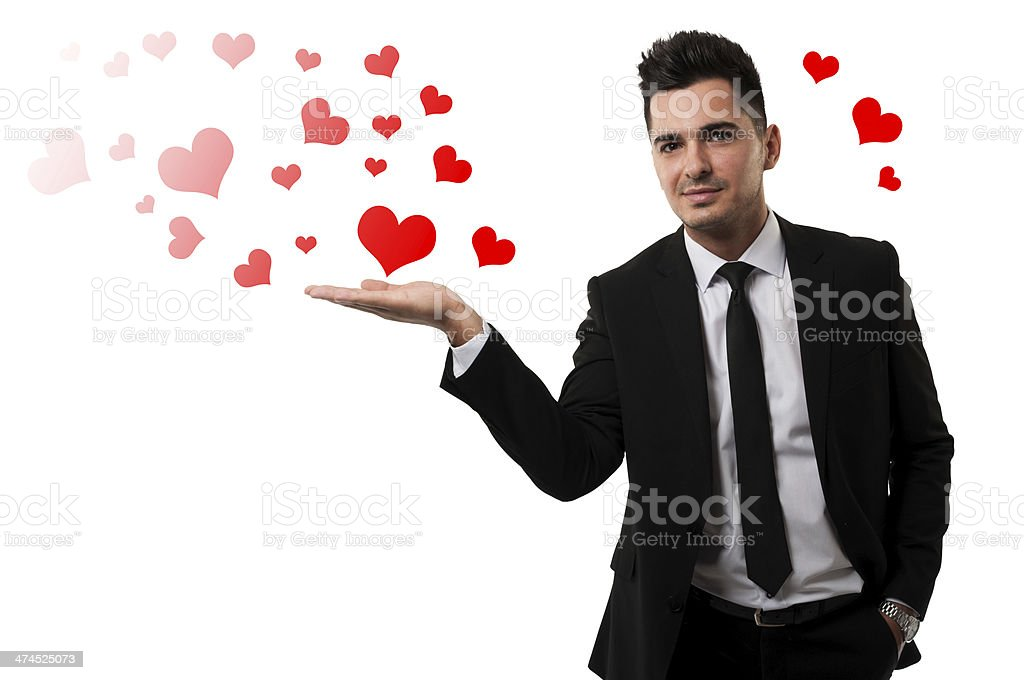Be mine for the Valentine's Day ! royalty-free stock photo