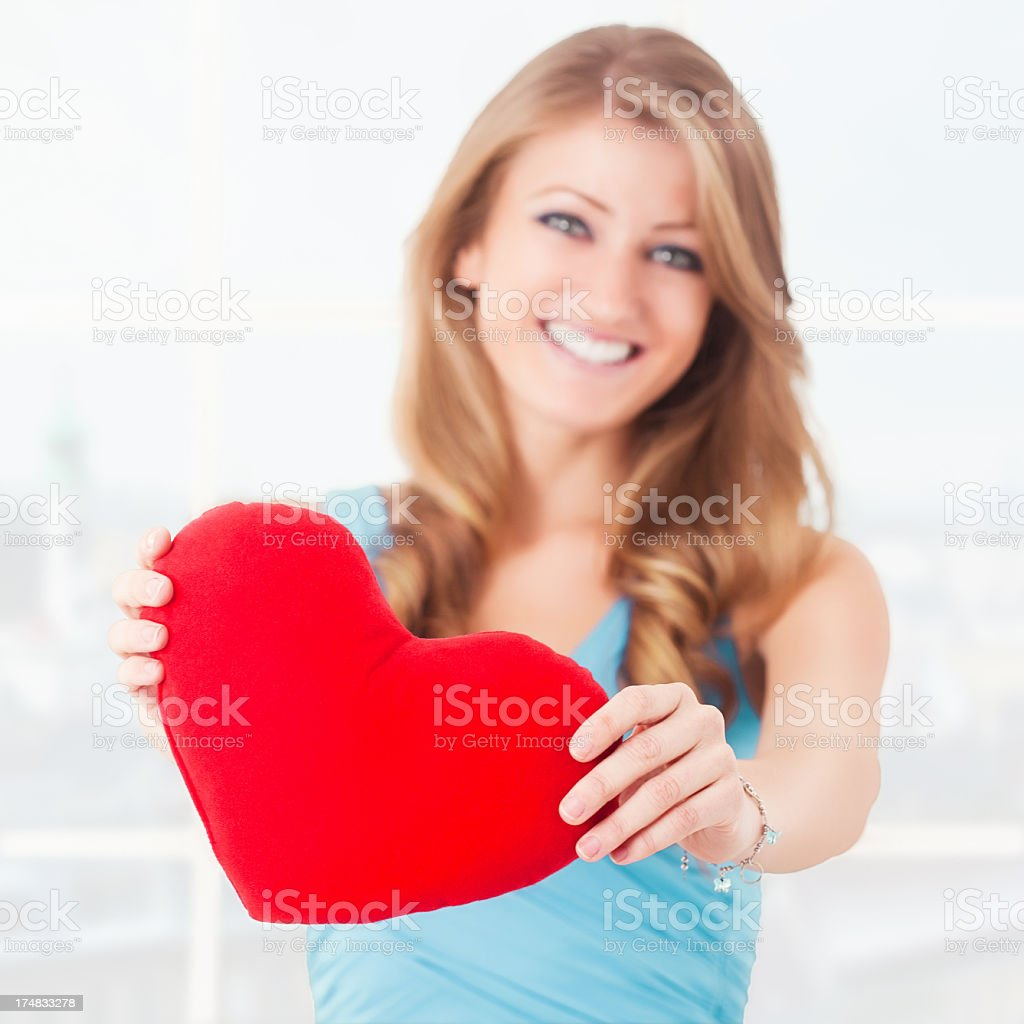 Be my Valentine royalty-free stock photo