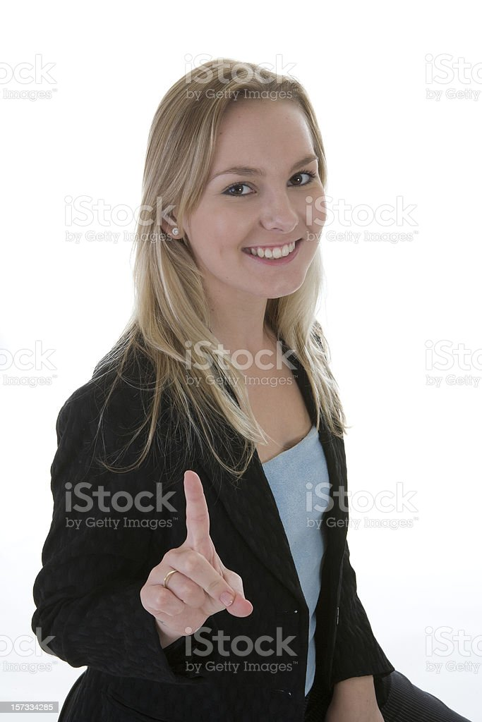 Be Number One royalty-free stock photo