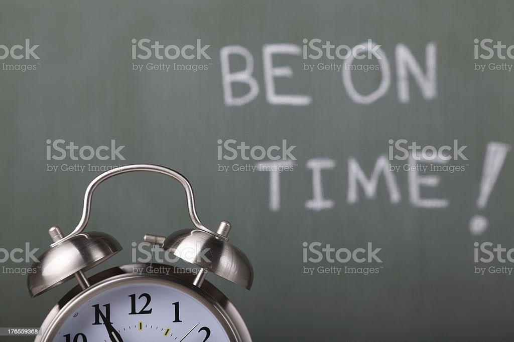 Be on Time! royalty-free stock photo